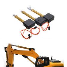 3x Metall Hauptsekunde Schaufelarm Antriebsstange passend für HuiNa RC Bagger