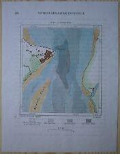 1883 Perron map GEORGE TOWN, PENANG ISLAND (PULAU PINANG), MALAYSIA (#201)