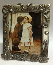 WHOLESALE...Pewter Picture Frame/ My Daughter   (LOT OF 4)