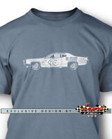 1972 Plymouth Road Runner Richard Petty T-Shirt for Men  Multiple Colors & Sizes