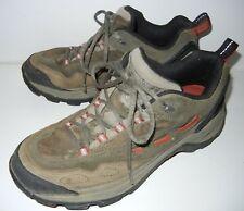 e1657116790f LL Bean Men s Hiking Walking Trail Shoe Sneaker Gray Mesh Suede Size 9.5 M