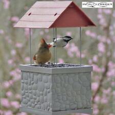 Bird Feeder - Wild Bird Feeder with 360 Degree View of Feeding Birds