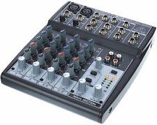 Behringer Xenyx 802 8-Kanal Mixer 2xMono 2xStereo Mic Line Mischpult DJ PA Band
