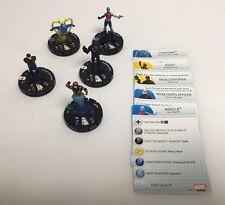Marvel HeroClix- Nova LOT of 5 HX34