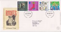GB ROYAL MAIL FDC FIRST DAY COVER 1999 CITIZENS' TALE STAMP SET BUREAU PMK