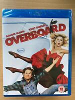 Overboard 1987 1980s Amnesia Romcom Romantic Comedy Classic UK Blu-ray BNIB