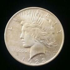 Authentic US  Peace Silver Dollar 1923 P ( 1921-1935)