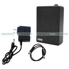 New 12V 9800mAh Black Lithium-ion Super Rechargeable Battery Pack+AC Charger