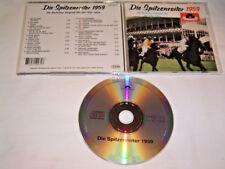 CD - Die Spitzenreiter 1959 Die deutschen Original Hits der 50er Jahre # S20