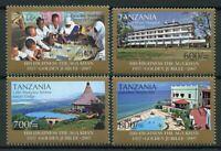 Tanzania Stamps 2007 MNH Aga Khan Golden Jubilee Zanzibar Madrasa 4v Set