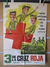 772      3 DE LA CRUZ ROJA TONY LEBLANC FUTBOL REAL MADRID