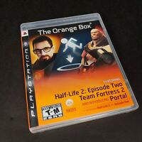 The Orange Box PS3 Half-Life 2 Portal 1 Team Fortress 2 Tested Complete w manual
