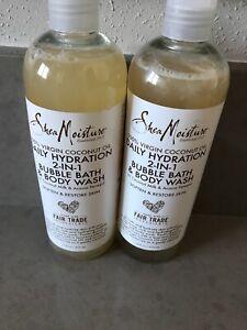 Shea Moisture 100% Virgin Coconut Oil Daily Hidratation 2 In 16 Oz Fair Trade