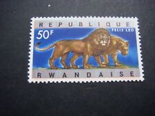 Rwanda 1964 Animals 50f Lion Top Value MH SG 69 see scans cat £4.50