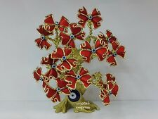 Feng Shui - 2017 Red Ribbon Evil Eye Flower Tree