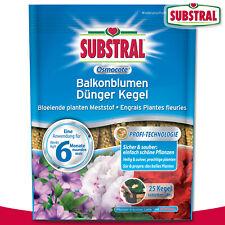 Substral 115 g Osmocote Balkonblumen Dünger Kegel (25 Stück)
