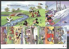 Walt Disney, Philanippon - Lesotho - 876-883, Bl.78-79 ** MNH 1991