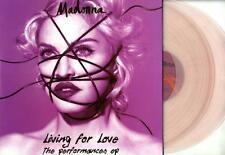 "MADONNA - LIVING FOR LOVE (THE PERFORMANCES) 2x 12"" LIGHT PINK VINYL NEW / MINT"