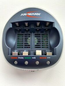 Ansmann Digi Speed 4 Ultra+ Battery Charger in Great Condition