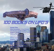 CD - Books on UFO's, Space Ships, Flying Saucers, Aliens - 100 eBooks