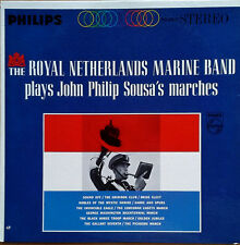 ROYAL NETHERLANDS MARINE BAND - PLAYS JOHN PHILIP SOUSA'S MARCHES - PHILIPS LP