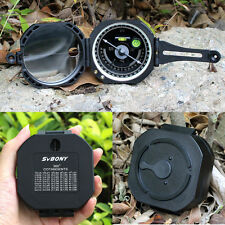 Pocket Transit Plastic M2 Compass+Carrying Bag for Surveyors Foresters bubble