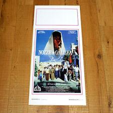NOZZE IN GALILEA locandina poster affiche Alì El Akili Bushra Karaman 1987 AP39
