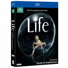 Life (Blu-ray)  David Attenborough, Planet Earth, BBC Earth, Oprah FREE SHIP