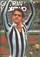 GUERIN SPORTIVO= NR°47 1975= FILM DEL CAMPIONATO DOPPIP=ITALIA-OLANDA=CAPELLO