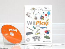 Wii PLAY  OVP/Anl.  +Nintendo Wii Spiel+