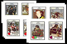 NRL RUGBY LEAGUE (1975) - GUM CARD/ POSTCARD SET # 2
