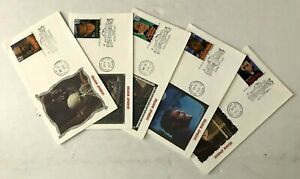1997 First day Of Issue Stamped Envelope Legendary Monsters Universal Studios
