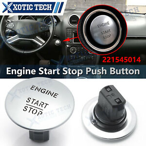 OE Mercedes Benz Push To Start Button Keyless Go Engine Start Stop Push Button
