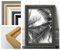 Hoxton Photo Frame Picture Poster Modern Large Sizes Wall Mounted Contemporary