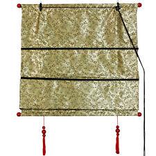 Oriental Furniture Shang Hai Tan Blinds - Gold