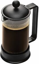 Bodum The Original French Press Black or red Coffee Maker 3 Cup 12 Ounce, New