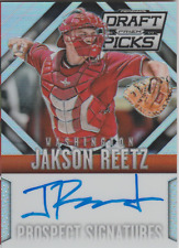 Jakson Reetz 2014 Panini Prizm Draft Picks rookie RC auto autograph card 77