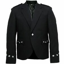 Cappotti e giacche da uomo blazer nero con bottone