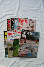 EIGHT VINTAGE OUTDOOR MAGAZINES FROM 1967