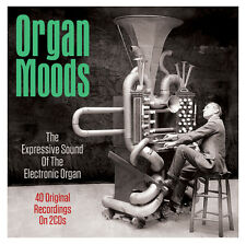 Organ Moods VARIOUS ARTISTS Best Of 40 Electronic Organ Songs ESSENTIAL New 2 CD