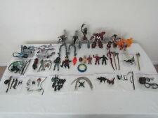 HUGE MOVIE MANIACS LOOSE FIGURE, WEAPONS, SPAWN LOT MCFARLANE SEE PICTURES