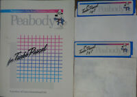 "Peabody for Turbo Pascal - 1988 - Manual & two 5 1/4"" disks - unused"
