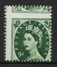 S127 9d Wilding Multi Crowns variety - Misperf UNMOUNTED MINT