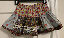 Matilda Jane Logo Character Counts Stretch Flare Skirt Girls' Sz 4!