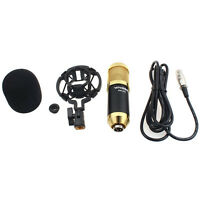 New Sound Studio Dynamic Mic + Shock Mount BM800 Condenser Microphone Favored