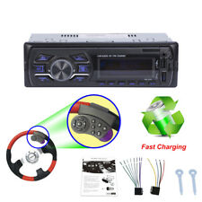 Blueteeth Radio Stereo Player Steering Wheel Remote FM Audio USB AUX Vintage Car