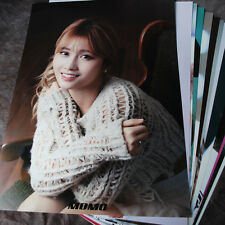 K-POP TWICE MOMO 12cut Posters Collection Bromide (12​PCS) +  Photo Sticker