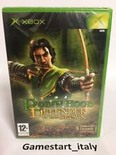 ROBIN HOOD DEFENDER OF THE CROWN - XBOX - NUOVO SIGILLATO NEW SEALED PAL VERSION