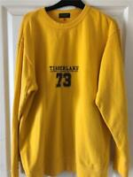 Timberland Yellow Sweatshirt Jumper Boys XL Mens  Excellent og