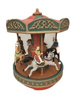 Vintage Victorian Merry Go Round Mr.Christmas Everyday Music & Christmas
